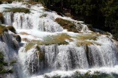 Waterfall in Croatia Stock Photo