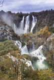 Waterfall in Croatia Royalty Free Stock Photos