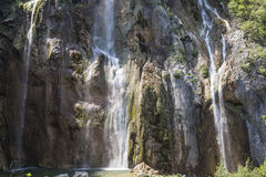 Waterfall in Croatia Stock Images