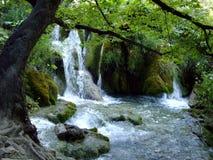 Waterfall in Croatia Royalty Free Stock Image