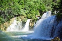 Waterfall. Croatia. Krka National Park. Waterfall Royalty Free Stock Photography