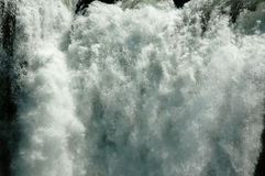 Waterfall CU - Zambezi Stock Images