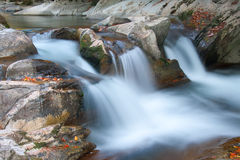 Waterfall of the Cubo Royalty Free Stock Photography