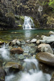 Waterfall, Cuillin Mountains, Isle of Skye , Scotland Royalty Free Stock Photography