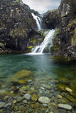 Waterfall, Cuillin Mountains, Isle of Skye , Scotland Royalty Free Stock Photos