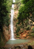 Waterfall Cunca Lolos royalty free stock photo