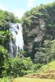 Waterfall Cunca Rami stock image