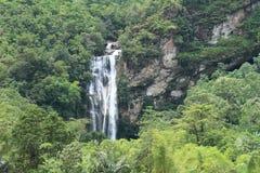 Waterfall Cunca Rami stock photos