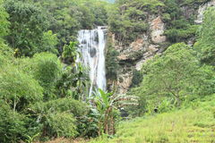 Waterfall Cunca Rami royalty free stock photos