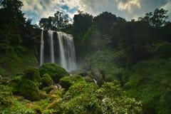 The waterfall Curug Sewu, Indonesia royalty free stock photos
