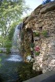 Waterfall in Dallas Arboretum. Nice waterfall in Dallas Arboretum, TX USA Stock Photos