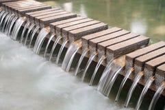 Waterfall decorate Stock Photo