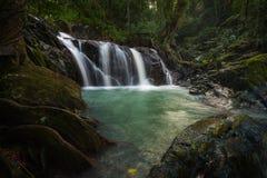 Waterfall. Deep forest waterfall at Chet khot waterfall ,Thailand Stock Photos