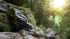 Waterfall in deep forest on Koh Samui. HD. Waterfall in deep forest on Koh Samui. 1920x1080 stock video