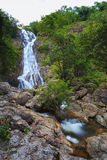 Waterfall in deep forest Royalty Free Stock Photography