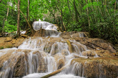 Waterfall in deep forest of Thailand Royalty Free Stock Photos