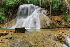 Waterfall in deep forest of Thailand Royalty Free Stock Photography