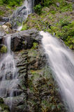 Waterfall in deep rain forest jungle. Krok E Dok Waterfall Sarab Royalty Free Stock Images