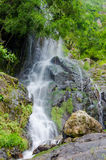 Waterfall in deep rain forest jungle. Krok E Dok Waterfall Royalty Free Stock Photography