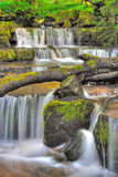 Waterfall in Dent Stock Image