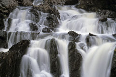 Waterfall detail. Truro, Nova Scotia, Canada royalty free stock image