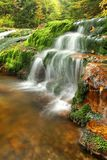 Waterfall detail Royalty Free Stock Photos