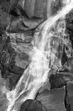 Waterfall detail in Vancouver island. British Columbia. Canada Royalty Free Stock Photography