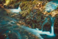 Waterfall detail stock photo