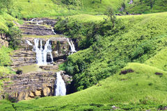 Waterfall Devon, Ceylon Stock Photos