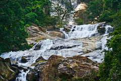 Waterfall Devon Stock Photo