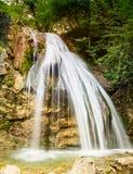 Waterfall Djur-Djur in Crimea Stock Images