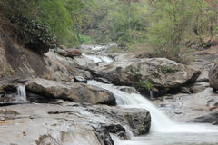Waterfall at Doi intanon Stock Photography