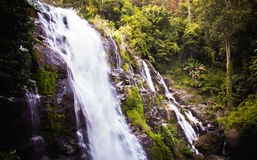 Waterfall. At Doi inthanon mountain Royalty Free Stock Photo
