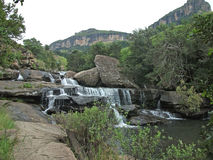 Waterfall in the Drakensberg, South Africa Stock Photos