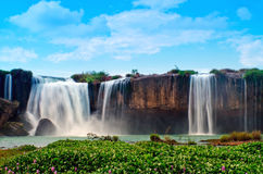 Waterfall. Dray Nur waterfall is a large and majestic in the province of Dak Lak, Vietnam Stock Images