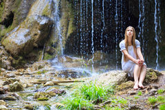 Waterfall dreams Royalty Free Stock Photos