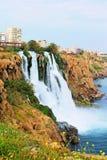 Waterfall Duden at Antalya. Turkey Stock Image