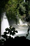 Waterfall of duden antalya Royalty Free Stock Photo