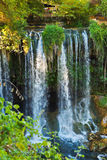Waterfall Duden at Antalya Turkey Royalty Free Stock Image