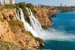 Waterfall Duden Antalya, Turkey Royalty Free Stock Image
