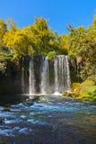 Waterfall Duden at Antalya Turkey. Nature travel background Royalty Free Stock Image