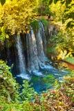 Waterfall Duden at Antalya Turkey. Nature travel background Stock Photography