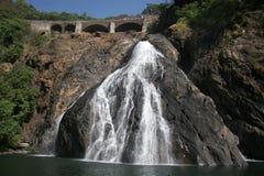 Waterfall Dudhsagar2. Waterfall Dudhsagar in goa India Stock Images