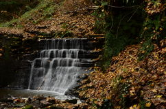 Waterfall in Dunfermline Stock Images