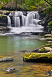 Waterfall on Dunloup Creek Stock Images