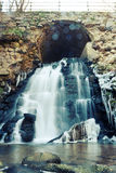 Waterfall. A waterfall in early winter royalty free stock photo