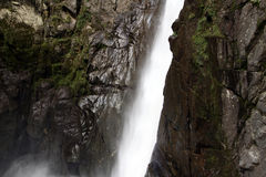 Waterfall in Ecuador Stock Photography