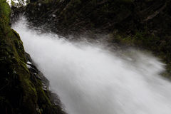 Waterfall in Ecuador Stock Photo