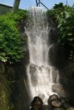 Waterfall at the Eden Project Royalty Free Stock Image