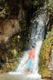 Waterfall in Ein Gedi Royalty Free Stock Images